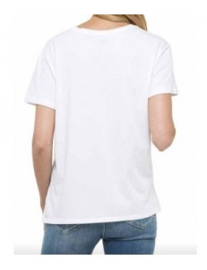 CAMISETA LEE LOGO TEE WHITE L40LEP12
